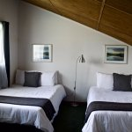 Clean, comfortable rooms with private bath and incredible views.