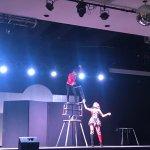 durante el show del Circo
