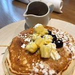 Great pancakes at Forage (reserve a table!!!)