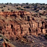 PDC-3: Palo Duro Canyon is a canyon system of the Caprock Escarpment located in the Texas Panhan