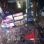 View from a floor 42 of Time's Square