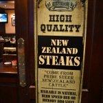 Yes, real steaks!