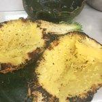 Charred pineapples