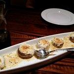 Roasted White Cheddar Stuffed Mushrooms