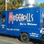 We started as a food truck - check our Facebook to see if the truck is going out today!
