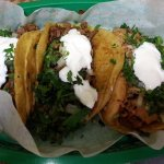 tacos - chicken and fish