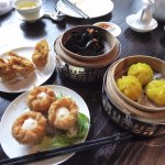 The dim sum dishes are quite unique and refined.