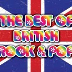 British rock and pop videos playing all day