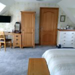 Extra large double room with a extra single bed