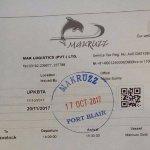 Over all nice Experience Makruzz we salling Portblair to havelock 20th Nov & return 22nd Nov 201