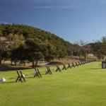 The Driving Range of the Tapatio Springs Resort Golf Course