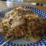 Mee Goreng: Quick to prepare and very delicious. Just how I remembered Indonesian mee goreng! Se
