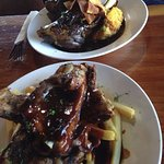 Ribs and lamb shank