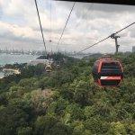 Singapore Cable Car (Sentosa) Photo