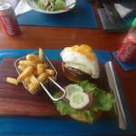lunch at the resort. omg so good!