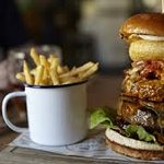 Best Burger and Chips