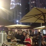 Our courtyard is the perfect venue for small events. Picturesque view of KLCC Twin Tower