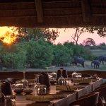 Dining Area at Savuti Camp
