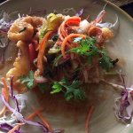 """""""Grilled semi squid with fish sauce"""" was so yummy"""