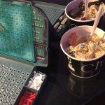 Battleship and ice cream!