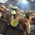 grilled local fish