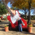 Opry photo-op with guitar