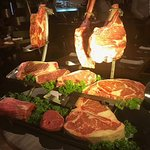 They show you their cuts of beef tableside.