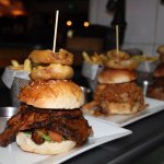 The infamous Pit Burger - can you finish it?!?