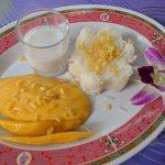 mango sticky rice...