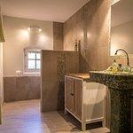"salle de bain chambre ""Jardin"""