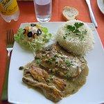 poisson sauce aux poivre avec riz...comme y faut