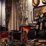 Savourer un délicieux Cognac au coin de la cheminée...