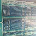 Metro Time Table
