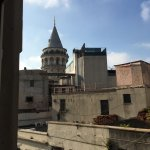 You can see one of the main city sights, Galata tower, from your window!