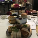 Champagne afternoon tea for 21st birthday celebrations