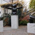 moderne Kunst im Park des Lenbachhauses