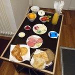 Einheitsfrühstück im Zimmer