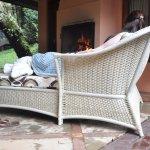 Chaise + lareira