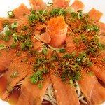 Sashimi de salmòn