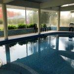 piscina interior, climatizada