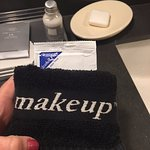 Special makeup remover and wash cloth