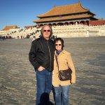 Bright November day at the Forbidden City