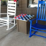 Checkers and rocking chairs