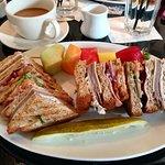 My club sandwich - yummy!!