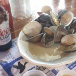 Can't go wrong with beer and clams