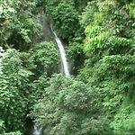 waterfall from tram
