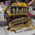 Surprise Cake - Tastes as good as it looks!