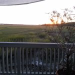 View from outdoor balcony overlooking Harbor Creek 2