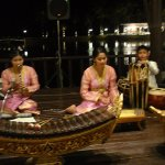 Thai music which enhances the atmosphere at the Restaurant.