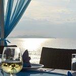 Birthday Dinner Table on the beach
